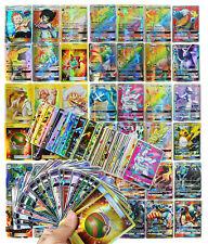 120Pcs Pokemon Cards 109 GX 11 Trainer Holo Flash Trading Card Bundle Mixed Toy