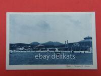 GAETA Spiaggia Serapo vecchia cartolina Latina