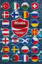 Panini EURO 2020 Pearl Edition Coca Cola Impossible Sticker