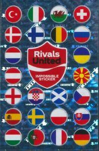 Panini EURO 2020 Pearl Edition Coca Cola Impossible Sticker