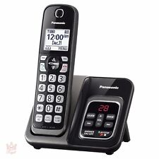 Wireless Home Phone Digital Answering System Panasonic Cordless 1 Handset NEW