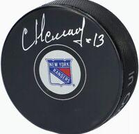 Sergei Nemchinov New York Rangers Autographed Hockey Puck
