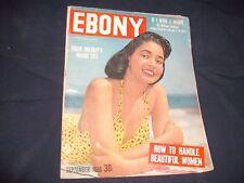 Ebony Magazine September 1956 Billie Holiday's Tragic Life Satchmo Joe Lewis