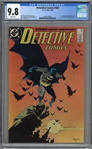 DETECTIVE COMICS #583 CGC 9.8 MIGNOLA COVER! WHITE PAGES 1988