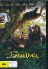 The Jungle Book DVD NEW Disney Bill Murray Idris Elba Ben Kingsley