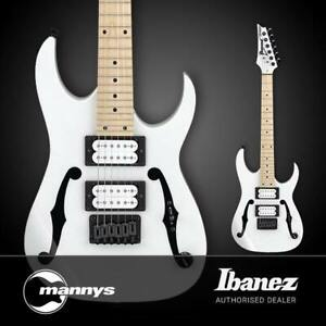Ibanez PGMM31 miKro Paul Gilbert Signature 3/4 Size Electric Guitar (White)