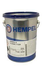 Hempel NEW Classic Antifouling 5 Ltr  Paint Yacht NAVY BLUE
