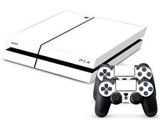 WHITE 159 SONY PS4 DECAL SKIN PROTECTIVE STICKER for SONY PS4 CONSOLE CONTROLLER