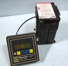 POWERLOGIC SQUARE D POWER METER 3020 PMD 32 & PM 650 POWER LOGIC METER 3020PM650