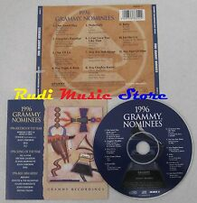 CD 1996 GRAMMY NOMINEES MARIAH CAREY TLC MICHAEL JACKSON SEAL no mc lp dvd (C15)