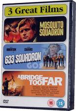 Mosquito Squadron 633 A Bridge Too Far War Film Boxset Collection DVD
