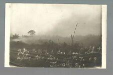 Lengby MINNESOTA RP1909 FIRE Coal Chute G.N. RR Great Northern nr Fosston Bagley
