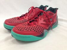 Rare Reebok Blacktop Sneakers Shoes Mens 15 Red Green Black Low Top Basketball