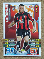 TOPPS Match Attax 2015 2016 football cards Base MOM Bournemouth  - VARIOUS