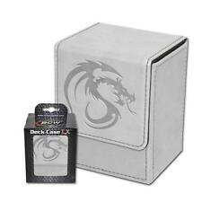 Wholesale Lot of (24) BCW Deck Case LX White Leatherette MTG Box Holds 80 Cards