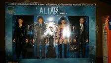 Alias figures boxed set ltd 3000 SEG Jennifer Garner +exl autographed pic RARE!