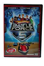 "Hot Wheels Battle Force 5: Episode 1 ""Starting Line"" ~New/Sealed"
