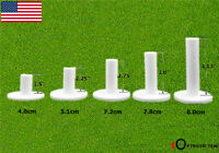 Golf Rubber Tees 5 Different Size Pack Driving Range for Mat Practice US