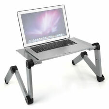 360° Adjustable Laptop Table Stand Lap Sofa Bed Tray Computer Notebook Desk USA