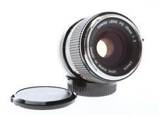 "Canon Rare ""O"" 35mm F/2 FD Lens"