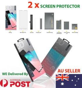 2 x 3D Full Glue Nano Hydrogel Screen Protector Galaxy S10 Plus Note 10 + Note 9