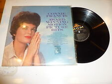 CONNIE FRANCIS - Sings Award Winning Motion Picture Hits - 1962 US 12-Track LP