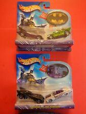 Hot Wheels-2003.Batman & Penguin/Riddler-2 Each/2 Car sets-Co614/C3226