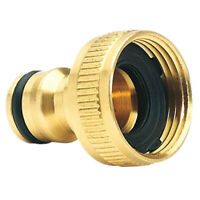 Brass Garden Hose Tap Connector (3/4) Quick Hose Adaptor Accessories Tap connect