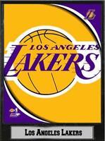 Los Angeles Lakers Logo Holz Wandbild 30 cm,Plaque NBA Basketball,Neu