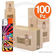 10000 Cartine BRAVO REX Finissime Anniversario Corte Doppie 100 pz