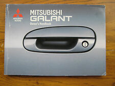 Mitsubishi Galant Owners Handbook/Manual 92-95
