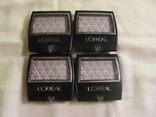 L'Oreal Wear Infinite Studio Secrets Eye Shadow Single #501 Violet Lot of 4