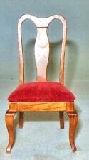 VINTAGE SIDE CHAIR HONEY PINE, #746HPA DOLL HOUSE FURNITURE MINIATURES