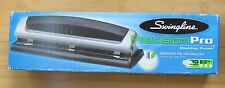 New SWINGLINE PRECISION PRO DESKTOP PUNCH. 10 sheets, 2-3 Holes Puncher #74037