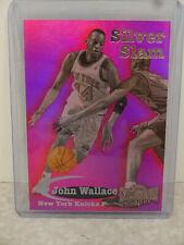 1997-98 Skybox Metal Universe Silver Slam #8 John Wallace New York Knicks