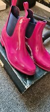 Ralph Lauren Womens Wellington /boots pink**size 6** L@@k