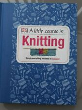 2 Craft/Knitting Books (A Little Course in Knitting and Crafty Creatures)