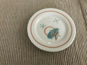 "American Girl Maryellen's porcelain plate dish 18"" dolls from Seaside Diner big"