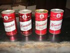 4 Diff Hauenstein SS CS Aluminum 12 Oz Pull Tab Beer Cans USBC 74- 11 13 17 18