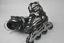 New pair of Inline Skates ROCES SLIM 101 Black Silver (44)