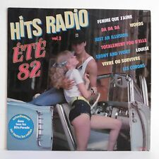 """33T HITS RADIO ETE 82 Vol.3 Vinyle LP 12"""" LOVE AND MUSIC Pin Up SYSTEM DISCO 607"""