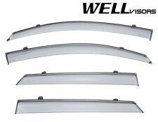 For 16-UP Hyundai Tucson WellVisors Side Window Defectors Visors W/ Black Trim