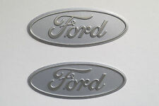 Ford Motor Aluminum Emblem NOS Oval Badge Hot Rod Mustang Explorer Torino F-150