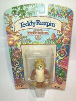 1985 Worlds Of Wonder The World Of Teddy Ruxpin NIP Teddy Ruxpin Figure