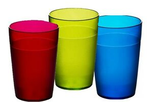 Set of Roltex Unbreakable Reusable Polycarbonate Kids Multi Coloured Tumblers