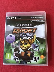The Ratchet & Clank Trilogy Playstation 3 Game
