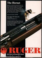 1994 RUGER Model 77/22 Hornet Rifle AD Collectible Firearms Advertising