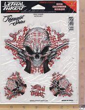 Day Dead Gun Slinger Window Decal Sticker for Car/Truck/Motorcycle/Laptop 6716-1