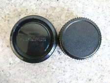 Olympus Rear Lens & Body Cap