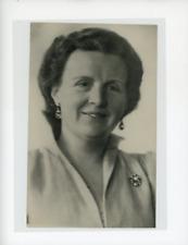 Juliana de Hollande  Vintage silver Print  Tirage argentique  13x18  Circa
